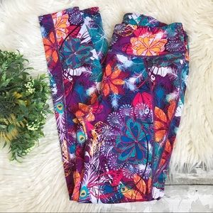 Skirtsports Colorful Floral Activewear Leggings